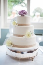 pastel coloured wedding cake pendrell hall