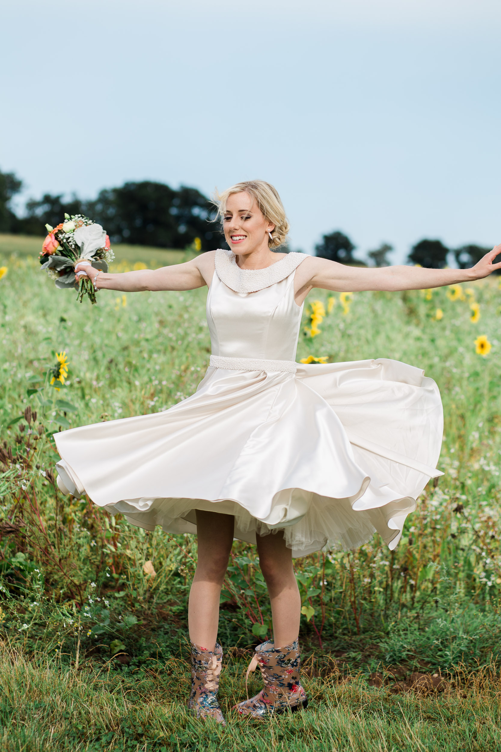 Swallows Nest Barn Chic & Rustic Wedding-129