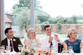 wedding breakfast speeches at swallows nest barn