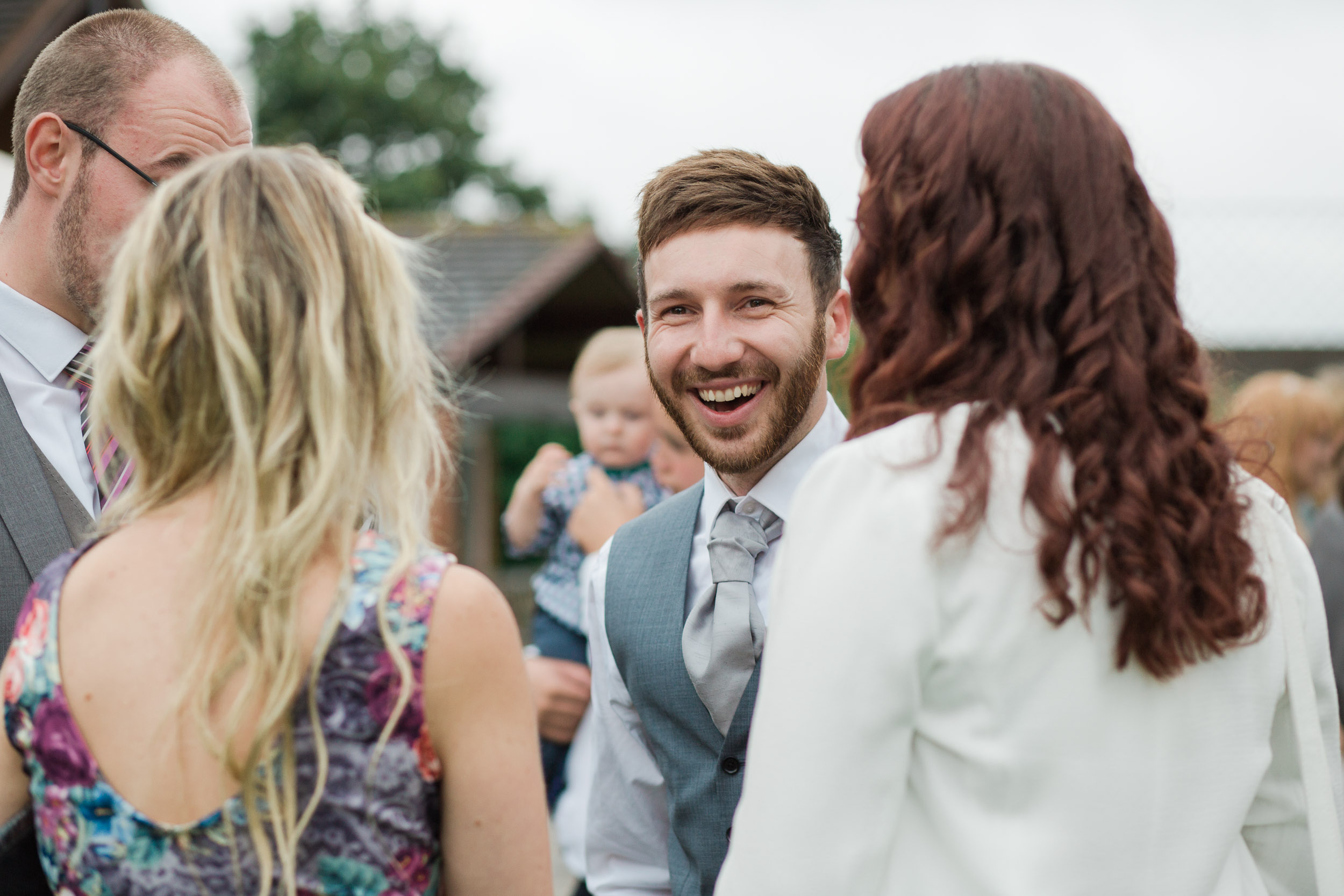 Fun Country Wedding Claverdon Village Hall -112