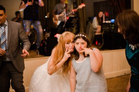 Fun Country Wedding Claverdon Village Hall -147