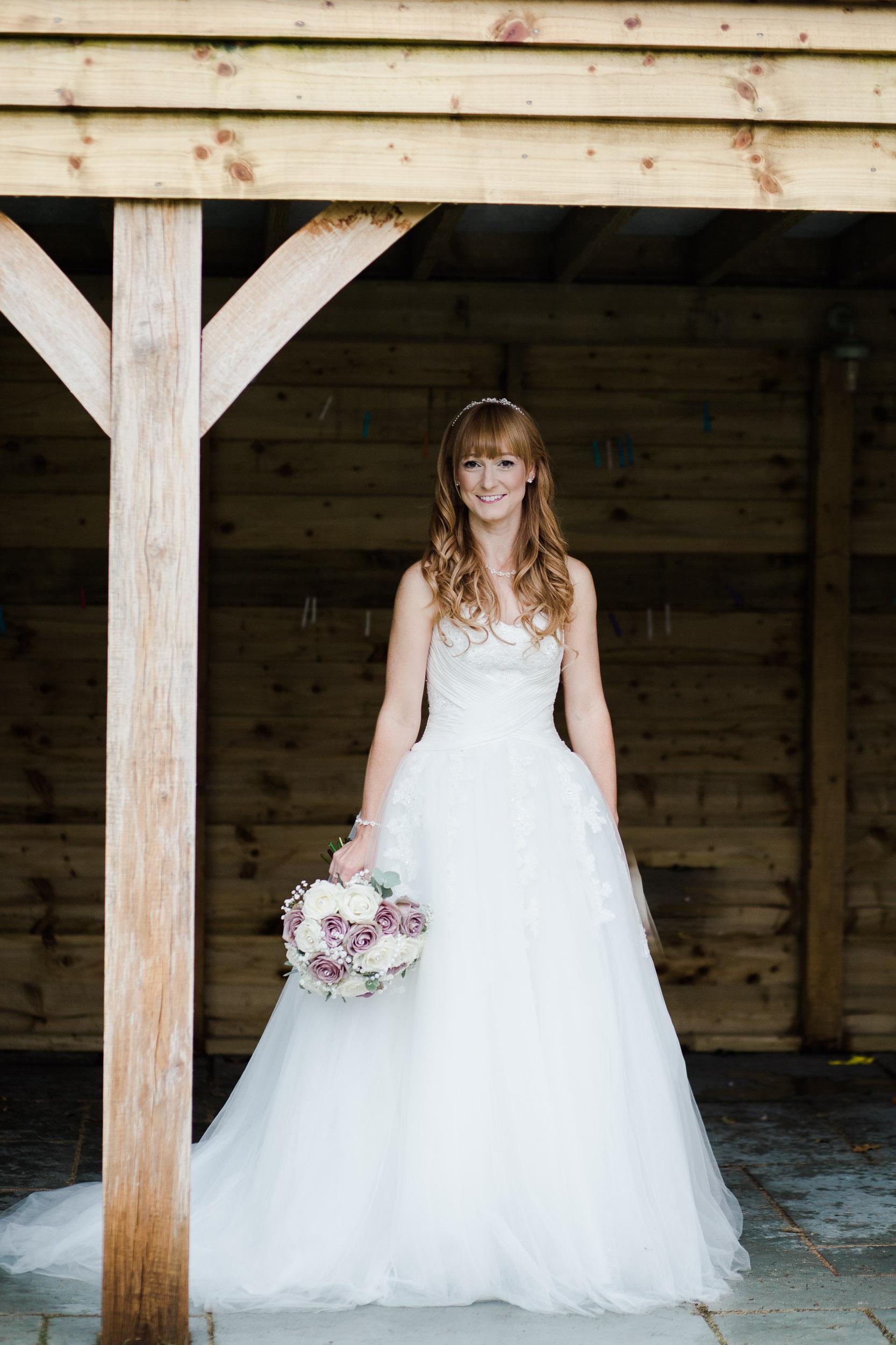 Fun Country Wedding Claverdon Village Hall -32