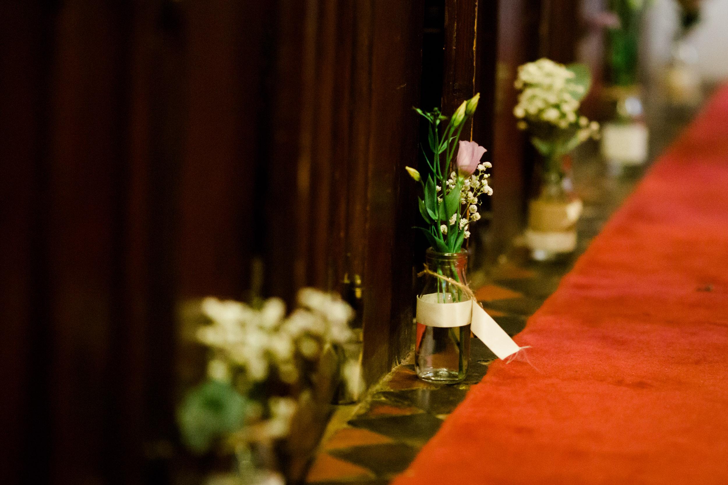 Fun Country Wedding Claverdon Village Hall -43