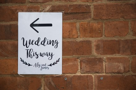 Fun Country Wedding Claverdon Village Hall -74