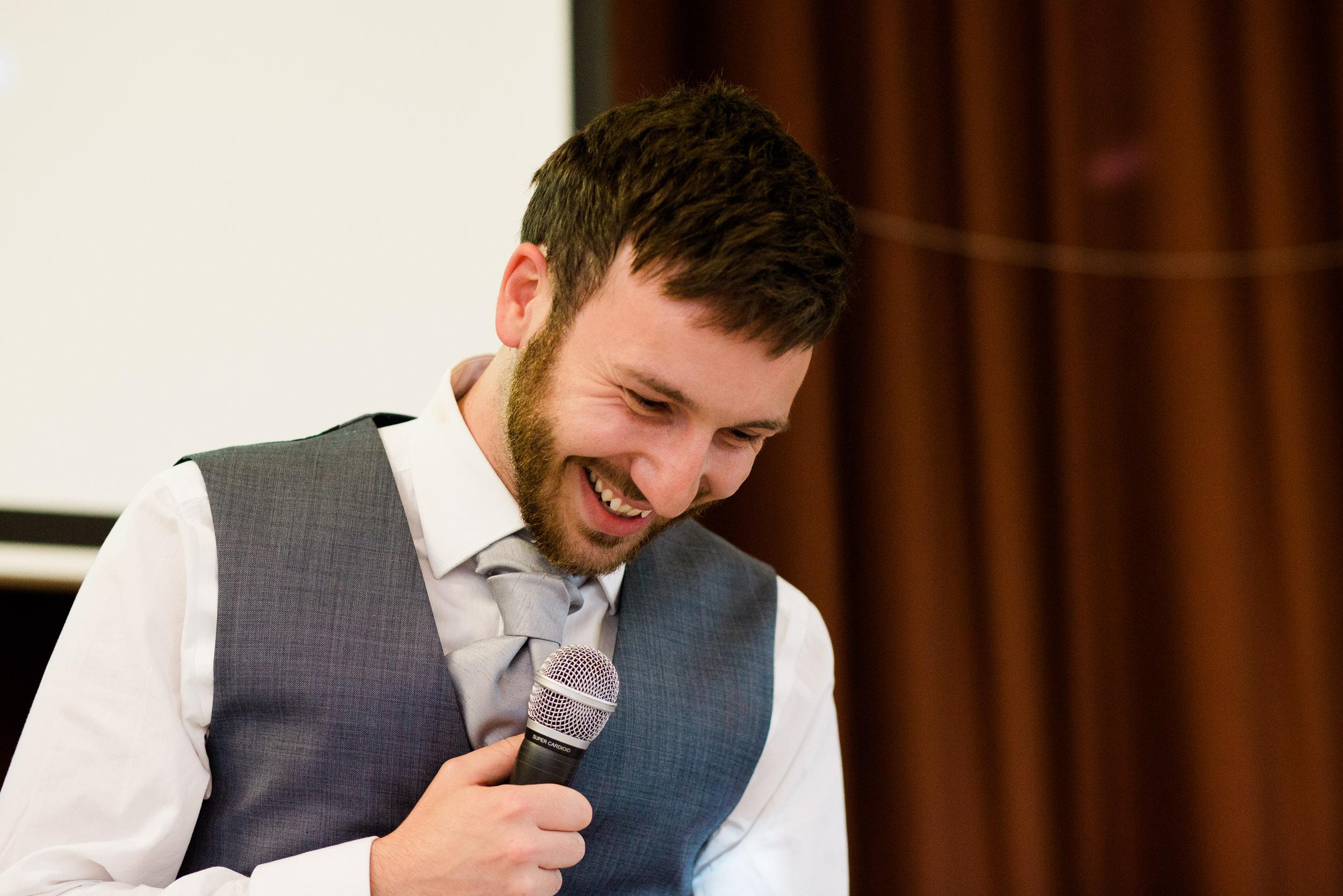 Speeches St Dorothea Mitchell Village Hall Wedding Claverdon