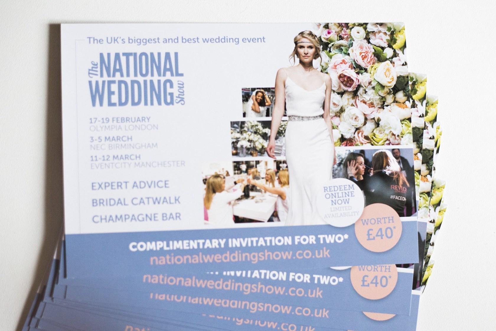 NEC Wedding Show Tickets Free NEC Birmingham 2017