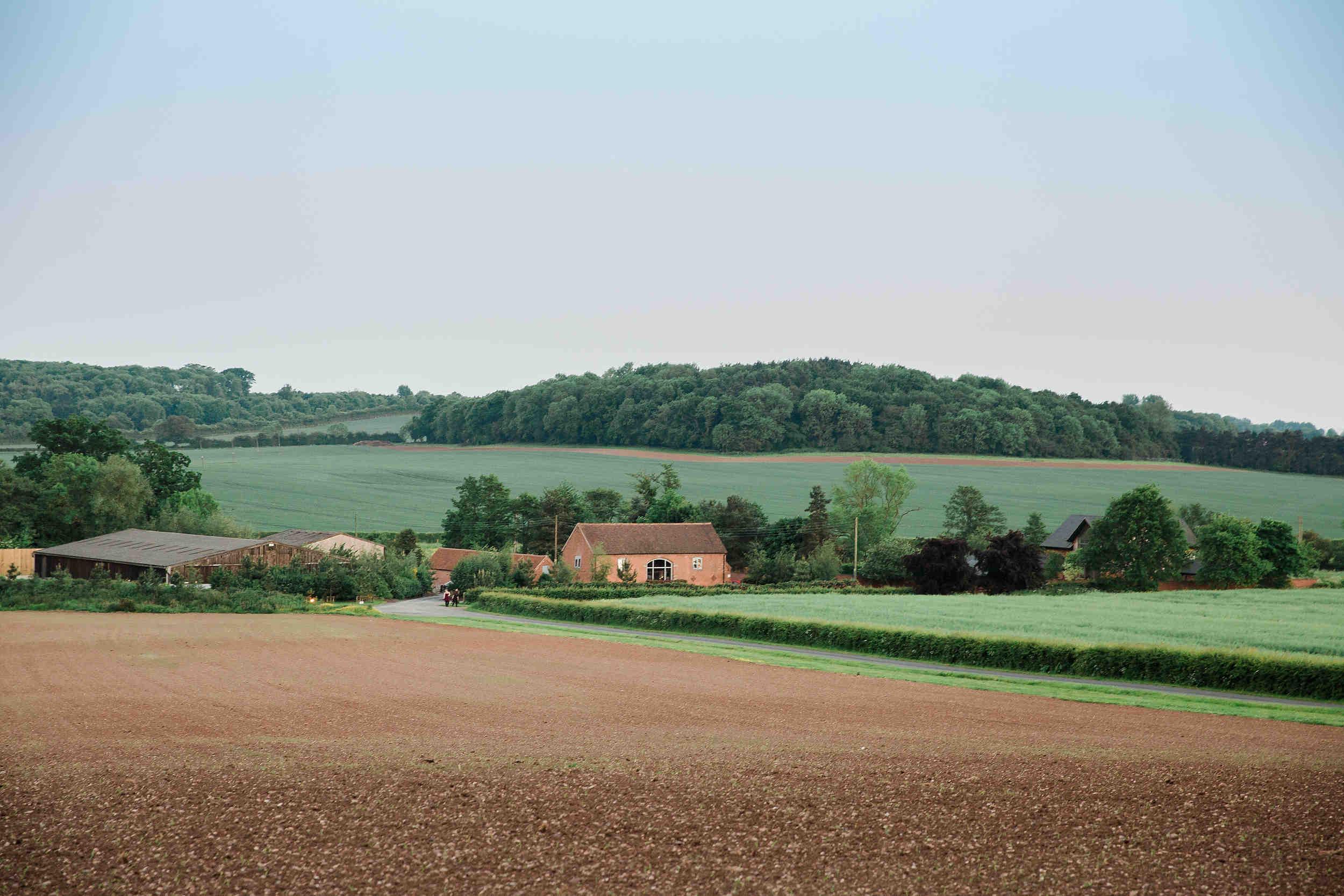 swallows nest barn landscape photo