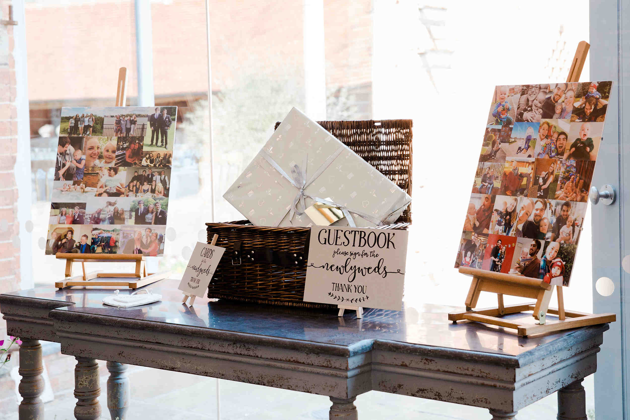 card and guestbook details