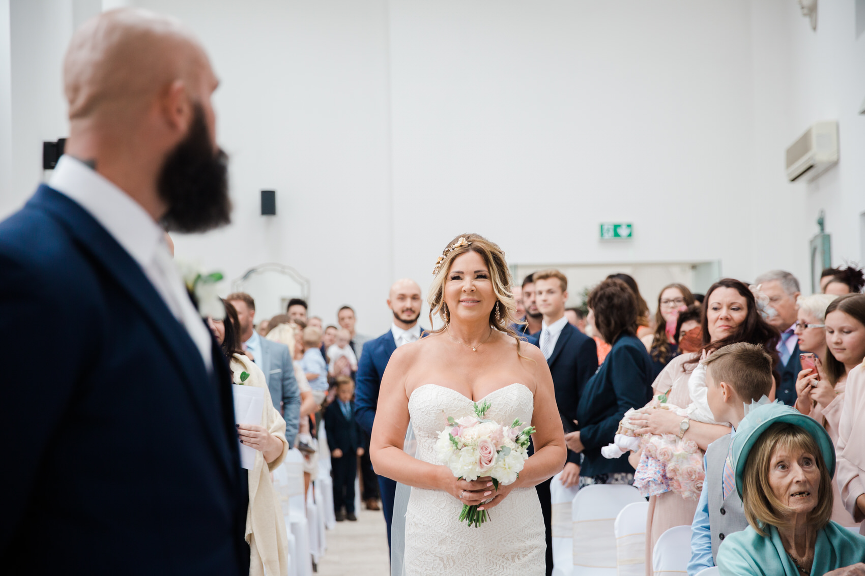 Glamorous Alternative Wedding at Fazeley Studios033