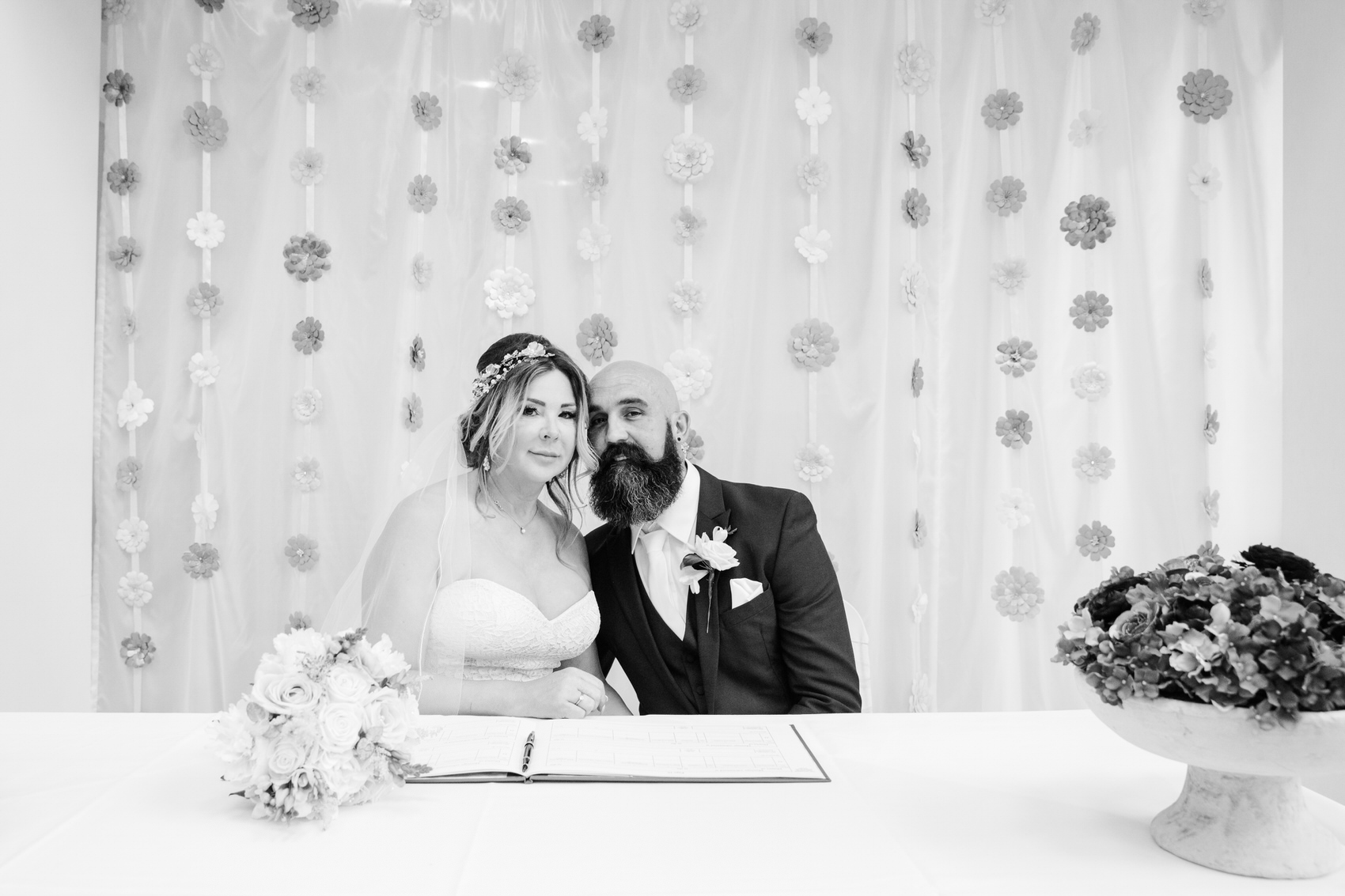 Glamorous Alternative Wedding at Fazeley Studios042