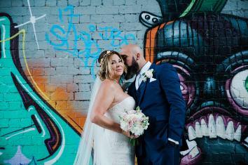 Glamorous Alternative Wedding at Fazeley Studios062