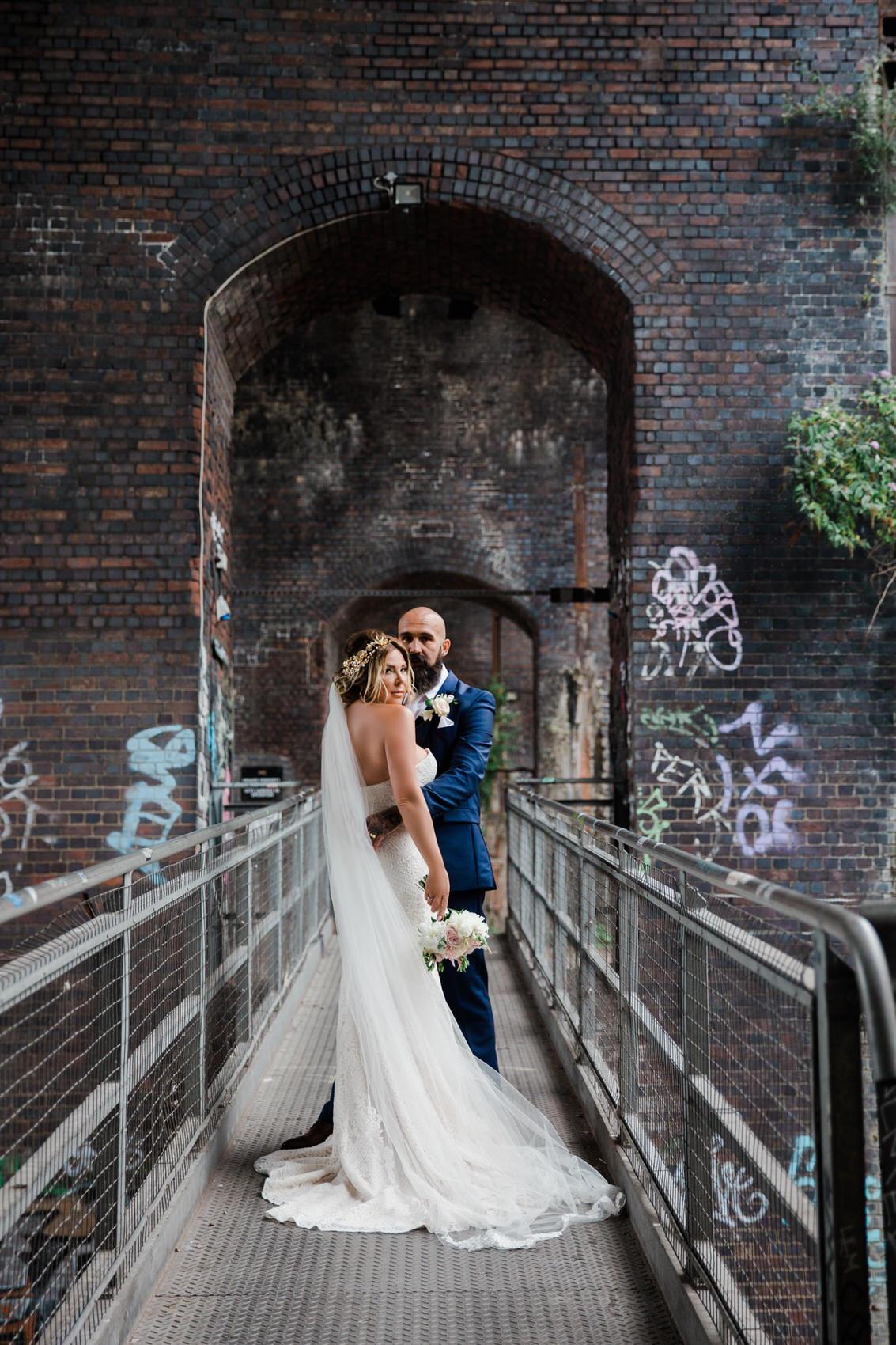 Glamorous Alternative Wedding at Fazeley Studios065