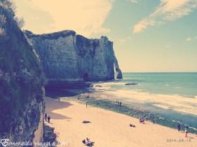 etretat spiaggia