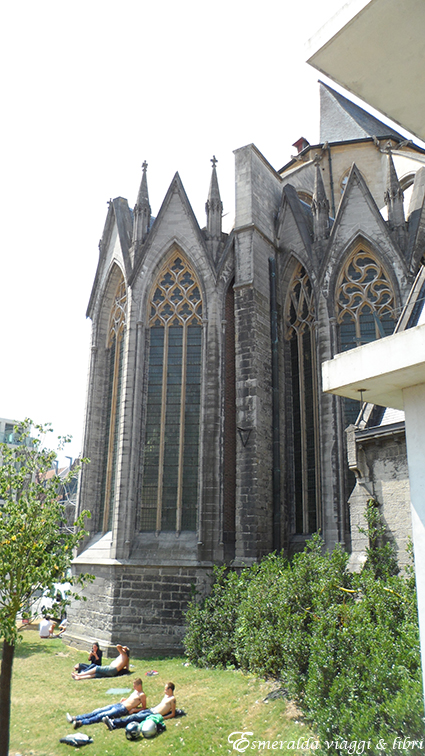 scorcio cattedrale san bavone