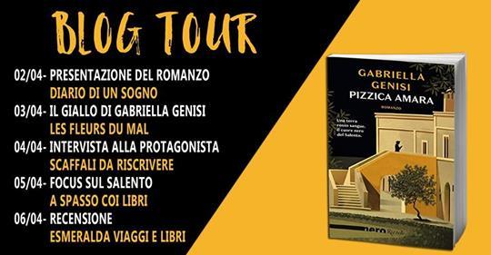 Calendario Pizzica.Blogtour Pizzica Amara Di Gabriella Genisi Recensione