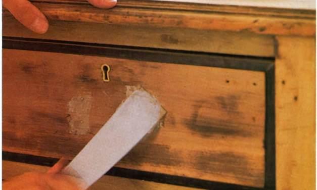 Trucos y técnicas para restaurar muebles