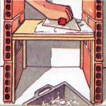 Cómo hacer muebles de estantes de yeso