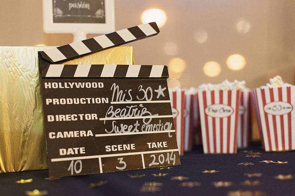 Decoración para amantes del cine y la televisión