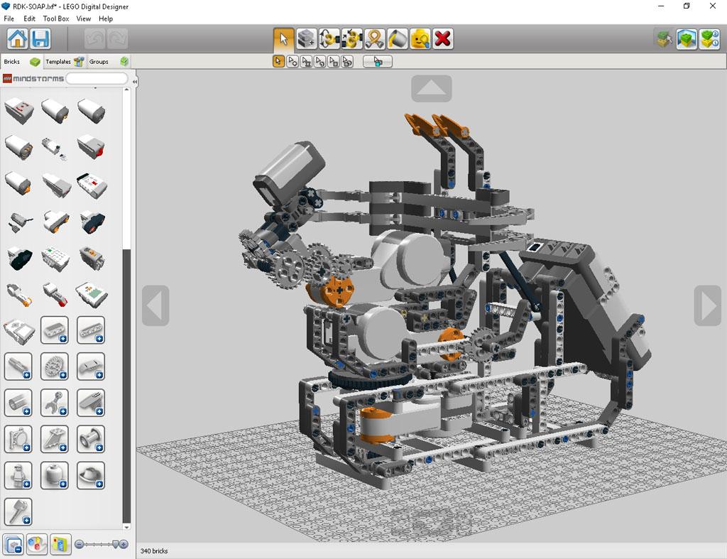 LEGO Digital Designer – EsMindstorms