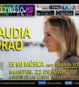 Claudia Corao elViernes, 18 de Mayo de 2018 en esmiradio.es