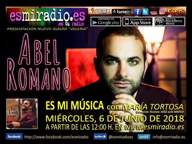 Abel Romano el Miércoles, 6 de Junio de 2018 en esmiradio.es