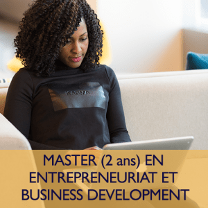 Master entrepreneuriat Business Development ESMK