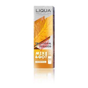 Traditional Tobacco från Liqua Mix & Go (50ml, Shortfill)