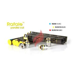 Rafale Nickel Ni200 Coils (4-pack)