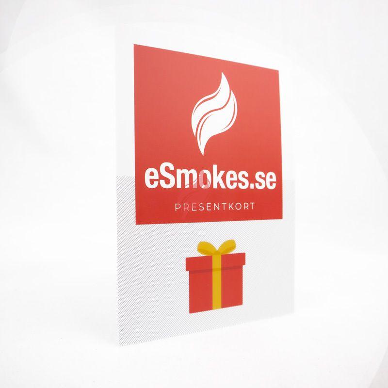 Presentkort från eSmokes.se