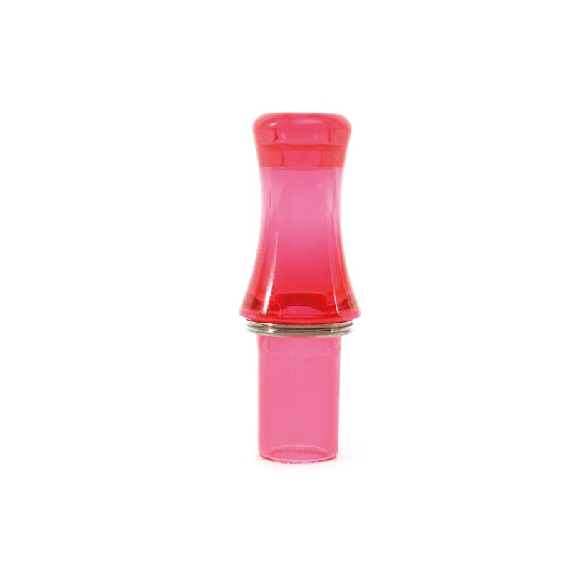 Rosa 510 Drip Tip i akryl från Tobeco