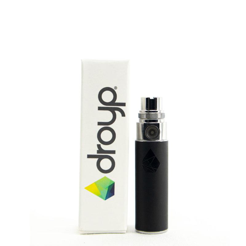 eGo-batteri från Droyp, Svart (450mAh)
