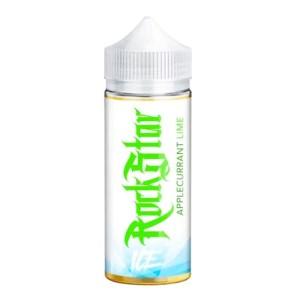 Ice Applecurrant Lime från Rockstar Vape (100ml, Shortfill)