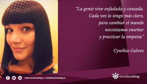 Cynthia Gálvez en Social Cooking