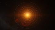 Animación de los planetas que orbitan a TRAPPIST-1