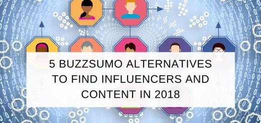 buzzsumo alternatives