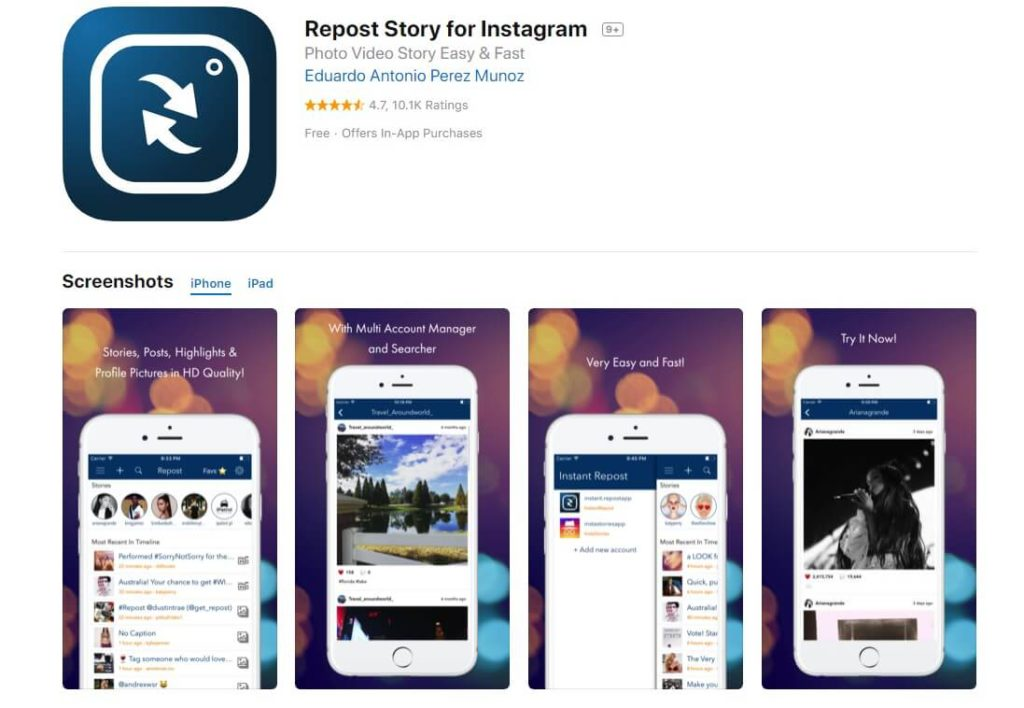 Instagram story download, save Instagram stories