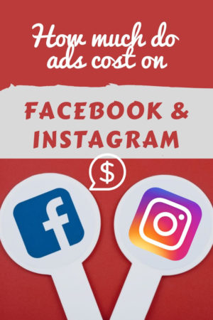 how much do ads cost on facebook and Instagram
