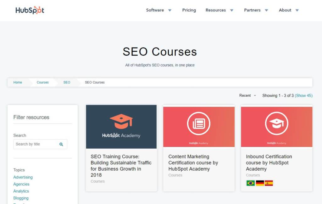 10 Seo Certification Courses Worth Pursuing In 2019 Esocmedia