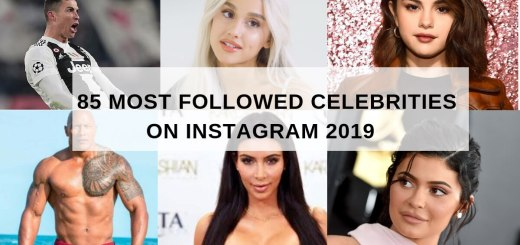 most followed Instagram celebrities
