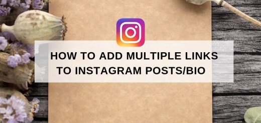 add multiple links to Instagram posts