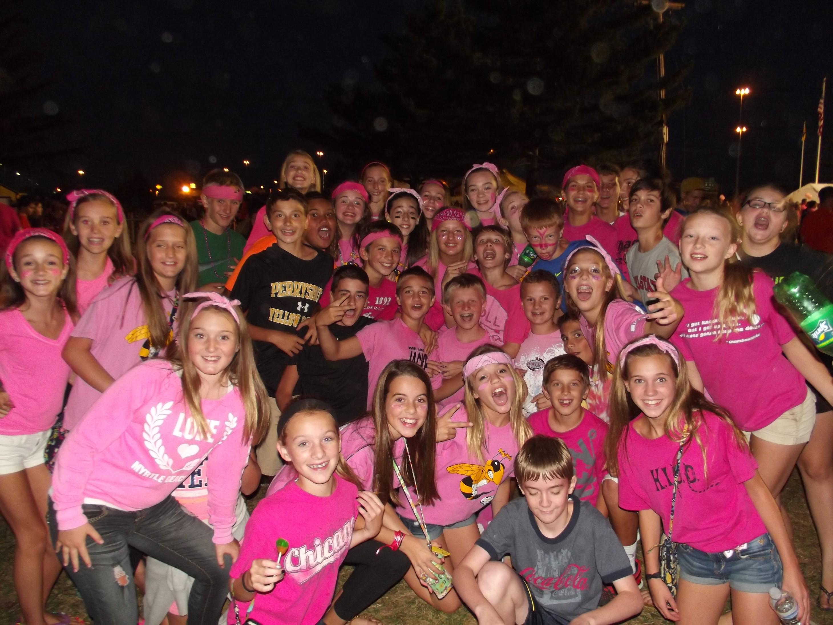 Jacket fans Go Pink for breast cancer awarness