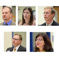 5 running for school board