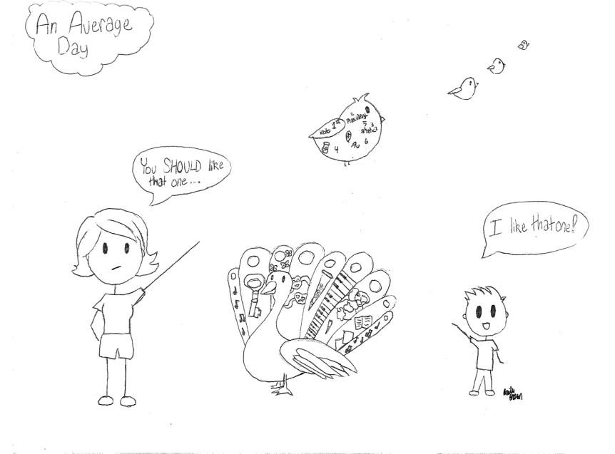 Editorial Cartoon (Bailee Brown)