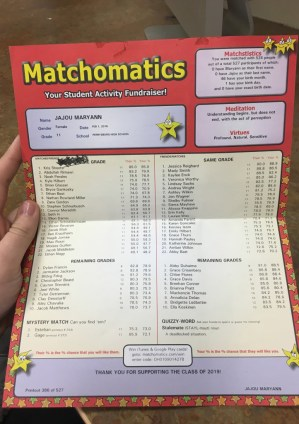 Matchomatics
