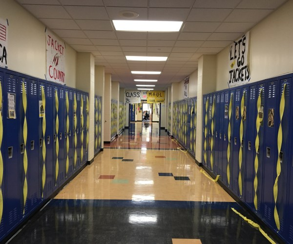 Class of 2018. The Junior hallway.