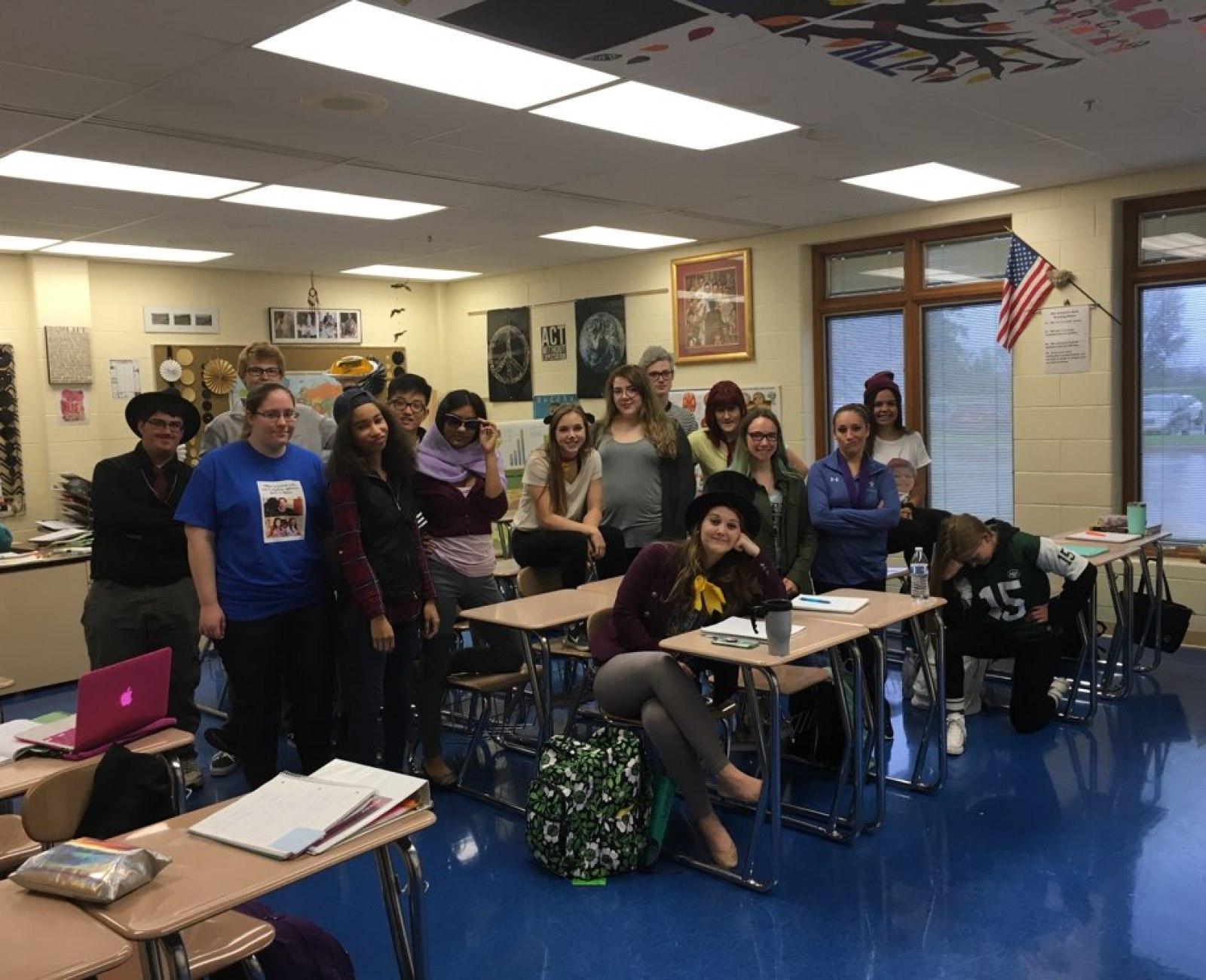 Mrs. Camp's AP Psychology Seniors