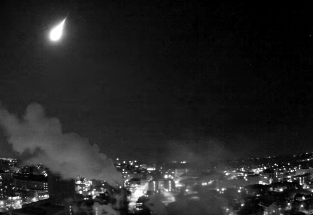 Fireball Meteor Explodes Over Michigan!