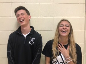 Luke Halasy and Kassandra Parritt, Best Laugh
