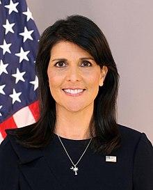 Nikki Haley's official portrait