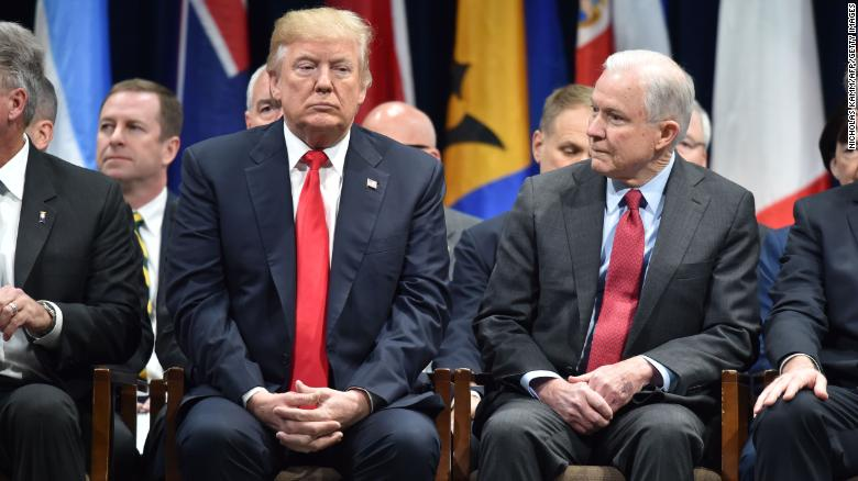 Jeff Sessions Fired as Attorney General